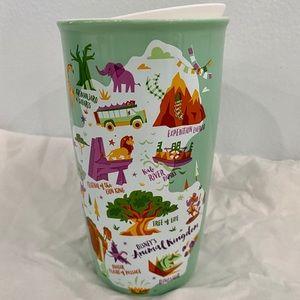 Disney Starbucks Animal Kingdom Ceramic Tumbler
